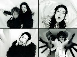 "Michael and Janet Jackson stills from ""Scream"""