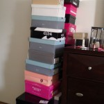 photo: pile of shoe boxes