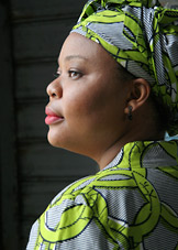 portrait of leymah gbowee