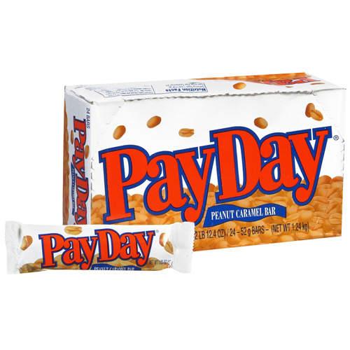 photo: payday candybar