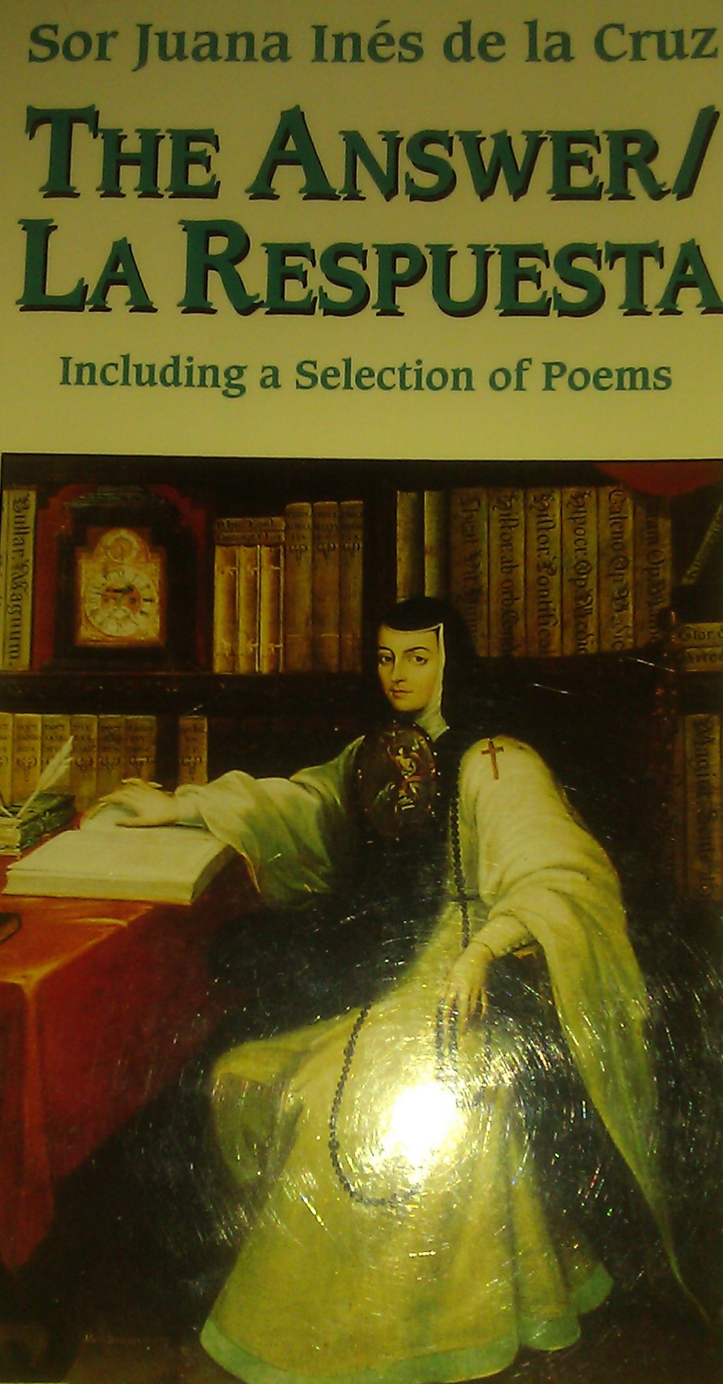 sor juana essay This essay examines embodied sound as locus of female agency in sor juana  inés de la cruz's reimaginings of echo and narcissus in romance 8 and el.