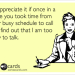 Call me too busy someecards