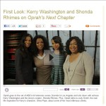 My screen shot from Oprah&#039;s next chapter site