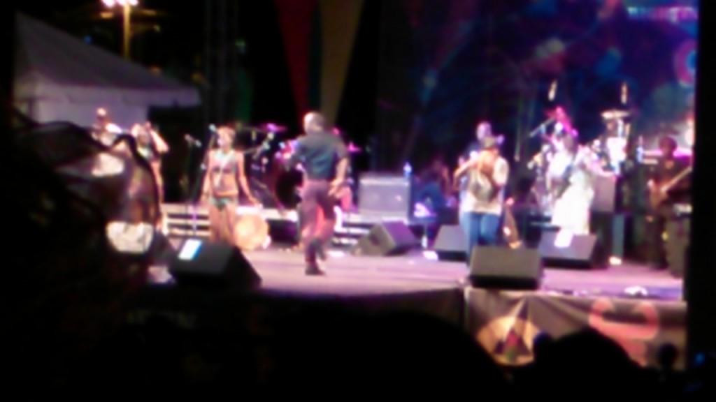 Seun Kuti, dancing sans instrument