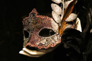 Mardi Gras type of mask